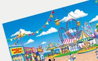 湾仔巴士儿童娱游乐园品牌宣传画册整合设计