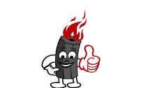 云南小黑机制炭品牌logoVI设计和包装设计