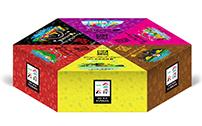 旺鹏食品一盒云南群芳黑糖包装设计